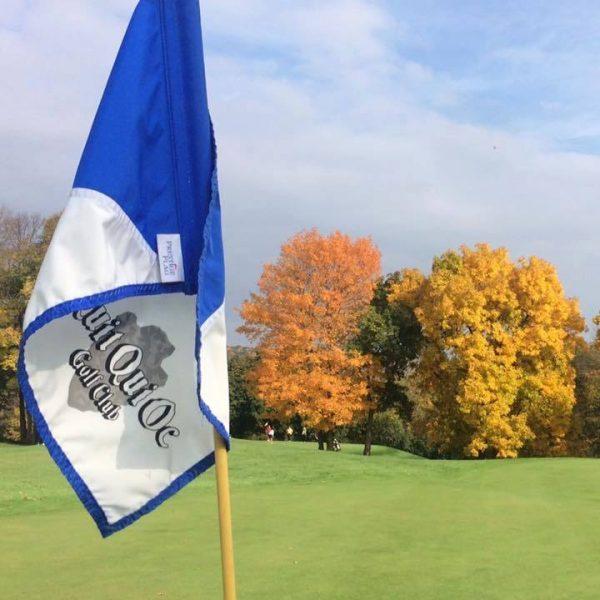 Quit Qui Oc Golf Course and Restaurant Golf Flag