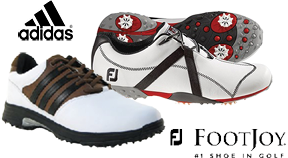 Adidas and FootJoy Golf Shoes 15-30% Off