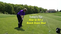 Quit Qui Oc Golf Course and Restaurant Knock Down Shot Pro Tips