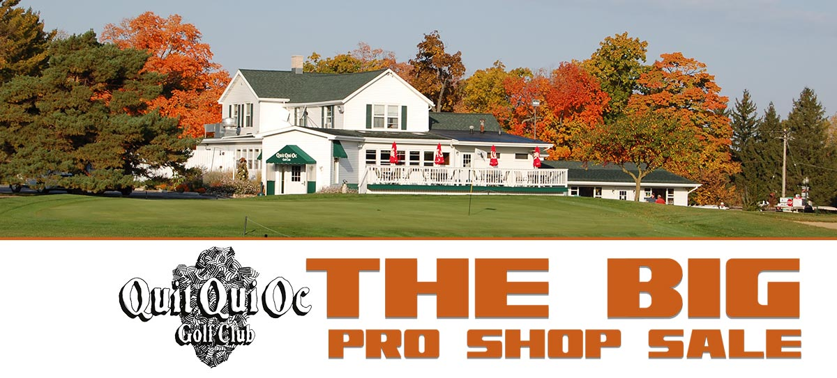Quit Qui Oc Golf Course and Restaurant The Big PRo Shop Sale