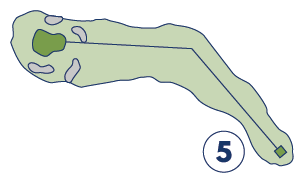 Quit Qui Oc Golf and Restaurant Map Hole 5