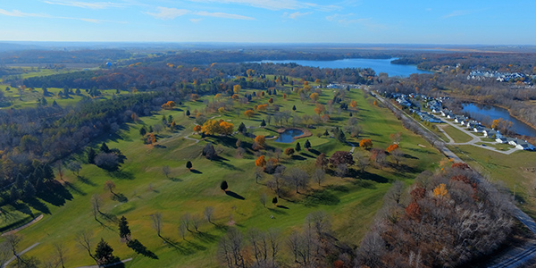 Quit Qui Oc Golf Course Elkhart Lake Ariel View Quit Qui Oc Golf Course Restaurant