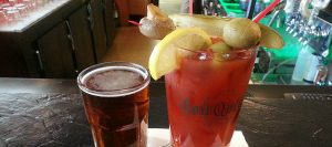 Quit Qui Oc Golf and Restaurant Bloody Marys at the bar