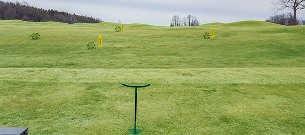 Quit Qui Oc Golf Course Driving Range Yard Markers